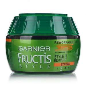 All Fructis Hair Styling Gel/Wax/Paste Half Price @ Boots (In Store & Online)
