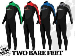 Adult full body Wetsuit from Two Bare Feet @ eBay priced £18.98 delivered.