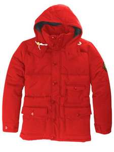 Lyle & Scott  red padded jacket was £200 now £50.00 plus use 25KNIT for extra 25% off £41.45 delivered