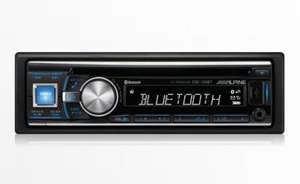 Alpine CDE-133BT CD Tuner with Parrot Bluetooth £89.99 @ Halfords