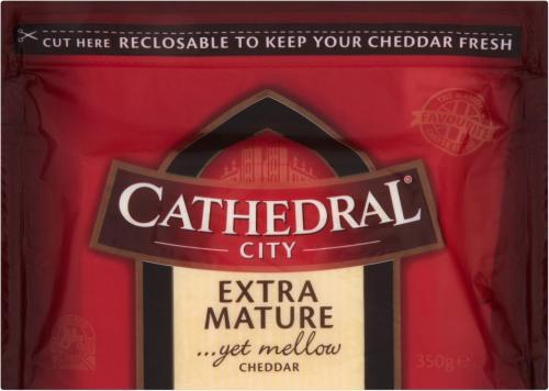 Cathedral City Mature/Extra Mature 350g £2 at ASDA