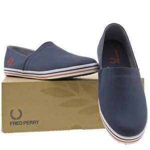Fred Perry Kingston Stamp Down Trainers £15.29   @ Schuh