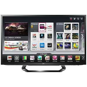 "LG 47LM620T LED HD 1080p 3D Smart TV 47"" - price matched at John Lewis for £611.99"