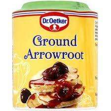 Sainsburys: Dr Oetker Ground Arrowroot 125g 10p instore