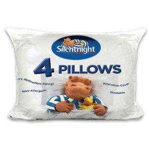 Silentnight 4 pack of ultrabounce pillows £12.99 in Home Bargains