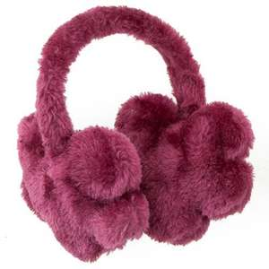 Flower Ear Muffs @ £1 Poundland