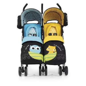 Cosatto You2 Twin Pushchair Tesco Instore only £61.48 (online £224.94)