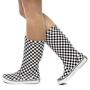 Womans Vans Checkerboard Wellies £17.99 delivered with code @ schuh!