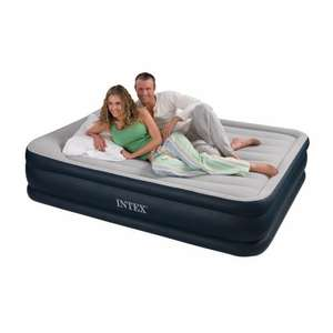 Intex Deluxe Pillow Raised Bed with Built in Electric Pump (Queen), 157 x 203 x 47cm WAS £85.99 NOW £35.05 @ Amazon/Outdoor Leisure Direct