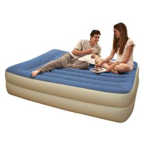 Intex Pillow Rest Queen Airbed Air bed with Built-in pump £36.93 inc p@p @  amazon/Outdoor Leisure Direct.