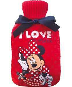 Minnie Mouse Hot Water Bottle. £8.99 @ Argos
