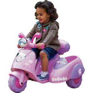 Girls Ride On Baby Annabell Battery Operated Scooter & Sidecar now less than half price @ £54.99 del @ Argos