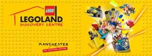 Free entry to lego land discovery centre, trafford centre today only