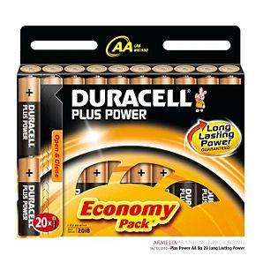 20 AA Duracell batteries £2.50 Boots Sheffield High st
