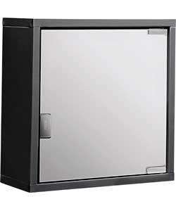 Medicine Cabinet-Jet Black £5.99 @ Argos WAS £19.99 | FULLY METAL R&C also available Super White