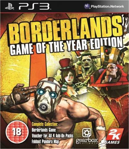 Borderlands GOTY PS3 £9.99 delivered from Sendit