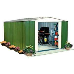 Metal Shed 8 X 7ft - Argos - £179.99 was £329.99 save £150