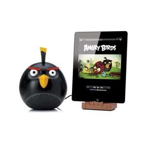 Angry Birds Black Bird / 2.1 Speaker Dock for iPod/iPhone/iPad and Angry Birds Helmet Pig / 2.1 Speaker Dock for iPod/iPhone @ Play.com - £22.79/£26.09