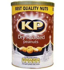 KP dry roasted peanuts 450g tub £1.00 @ Tesco instore