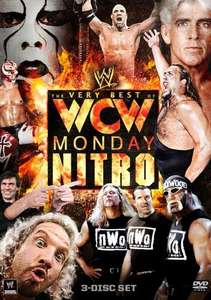 The Very Best of WCW Monday Nitro DVD (3 Discs) £9.99 @ Silvervision