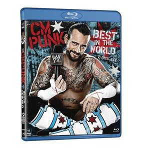 CM Punk: Best in the World Blu-ray (2 Discs) £9.99 @ Silvervision