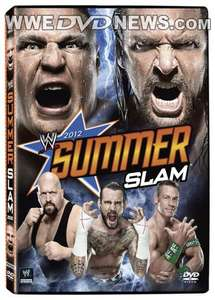SummerSlam 2012 Blu-ray/dvd £6.99 at Silvervision
