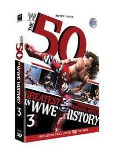 The 50 Greatest Finishing Moves in WWE History Blu-ray (2 Discs) dvd £9.99 @ Silvervision