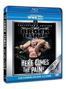Brock Lesnar Here Comes The Pain Collector's Edition Blu-ray (2 Discs) £9.99 @ Silvervision