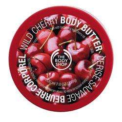 200ML WILD CHERRY BODY BUTTER £3.90 @Body Shop Online & Instore Using Code 40% Off Everything Including Sale Items!