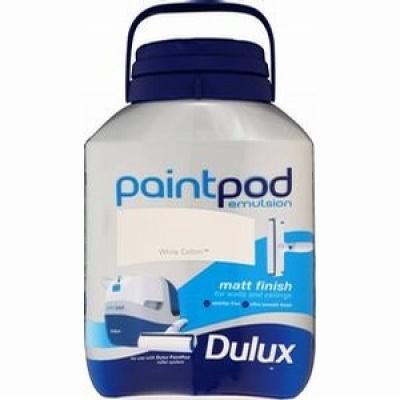 Dulux paint pod 5L emulsion £8.99 @ home bargains