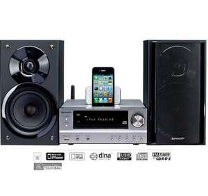 Sharp XLHF401PH 200W Stereo - WITH DLNA for Android, Windows etc and Airplay for Apple £129.00  Direct from Sharp eBay