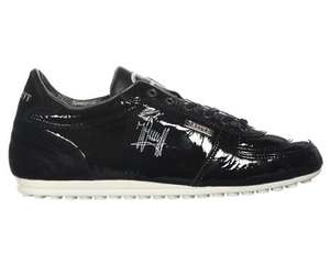 Cruyff Alano Black Patent Leather Trainers £65 @ trainerstation