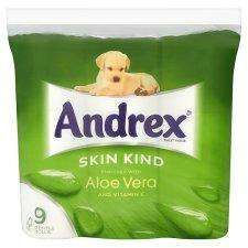 Andrex Aloe Vera Toilet Tissue £3.75 Down from £4.99 @Tesco also 3 for £10 from tomorrow