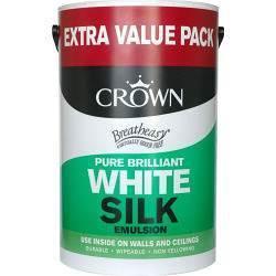 6L crown breathe easy vinyl sik/matt emulsion £10.79 instore @ B&M