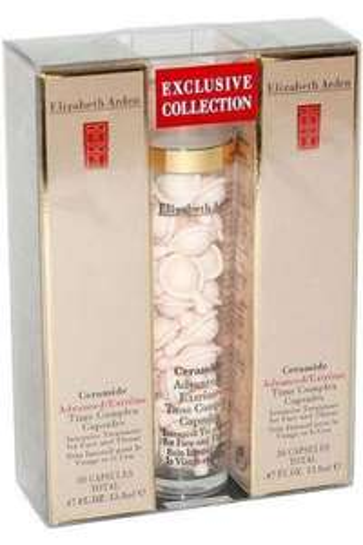Elizabeth Arden Ceramide Face & Throat Time Complex 90 Capsules (3x30) Intensive. £33.27 @ Direct Cosmetics