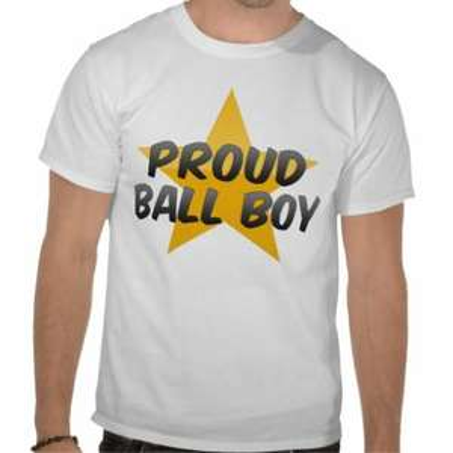 'Proud Ball Boy' T-Shirts, £13.90 + £3.81 P+P @ Zazzle