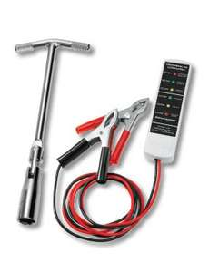 Lidl Car Tool Assortment, £2.99 - Battery Tester, Oil filter wrench & Spark plug wrench