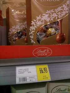Morrisons - Lindt Assorted Chocolate Truffles - £2.48