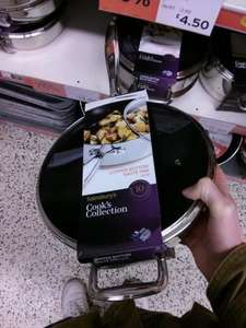 Sainsbury's Cook's Collection Saute Pan Copper Bottom was £45 now £13.50 (save 70%)