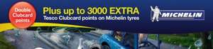 Up to 8,000 extra Clubcard points on Michelin Tyres @ BlackCircles