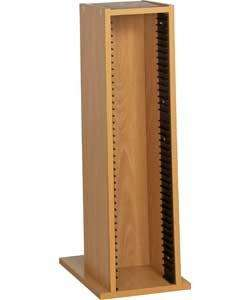 Sloping CD Media Storage Rack - Oak Effect now only £3.99 @ Argos