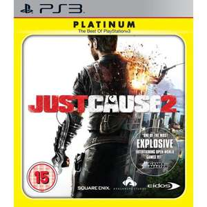 Just Cause 2 Full Game Download for PlayStation 3 PS3 £5.29 (or £4.50 for PS+ members) from Sony Entertainment Network PlayStation Store