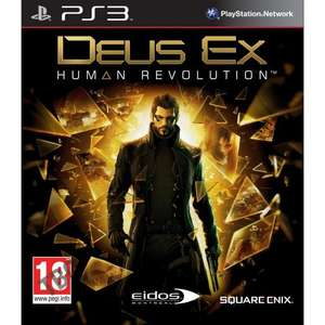 Deus Ex: Human Revolution Full Game Download for PlayStation 3 PS3 £5.29  (£4.50 for PS+ members) + DLC Sale from PlayStation Store