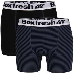 4 Pairs of Boxfresh boxers £15.30 Delivered @ The Hut + Quidco