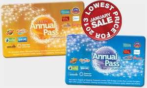 Merlin Pass at special offer price (boxing day sale). Buy from Oban Sealife centre (via phone) and get a gift voucher to redeem your pass instead of having to visit the attraction in person,