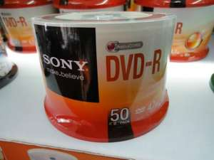 Sainsburys Sony DVD-R +R x50 DCD-RW+RWx25 discounted INSTORE by 70% other reductions as well