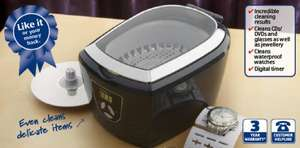 Ultrasonic Cleaner £19.99 @ Aldi from sunday