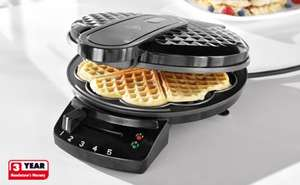 Waffle Maker - 1200w - Easy Clean - £9.99 Instore Lidl from Monday 28/1