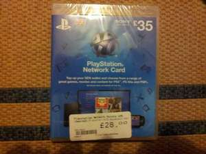 £35  Worth Of PSN Points Only £28 @ CEX