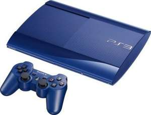 Sony PlayStation 3 Limited Edition Azurite Blue 500GB Super Slim Console (Includes 2 Dual shock controllers) for £235.99 delivered @ Gameseek